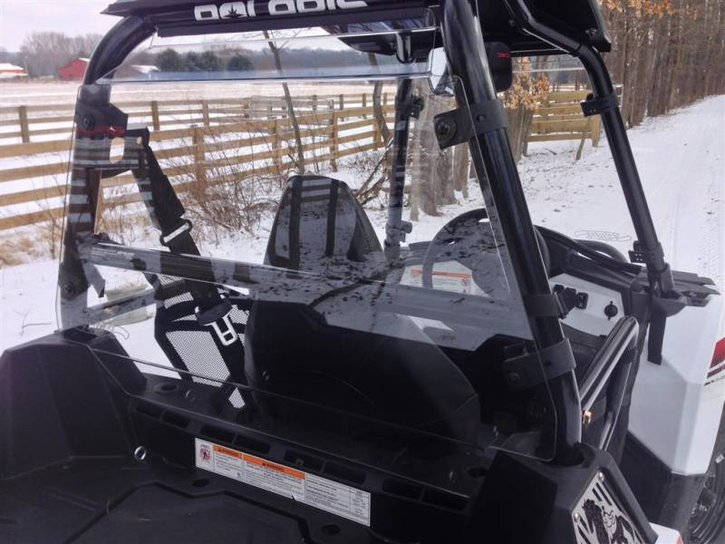 Polaris Sportsman ACE 900 Cab Back / Dust Stopper