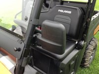 "UTV Folding Mirror Set Fits: 1-3/4"" Tube"