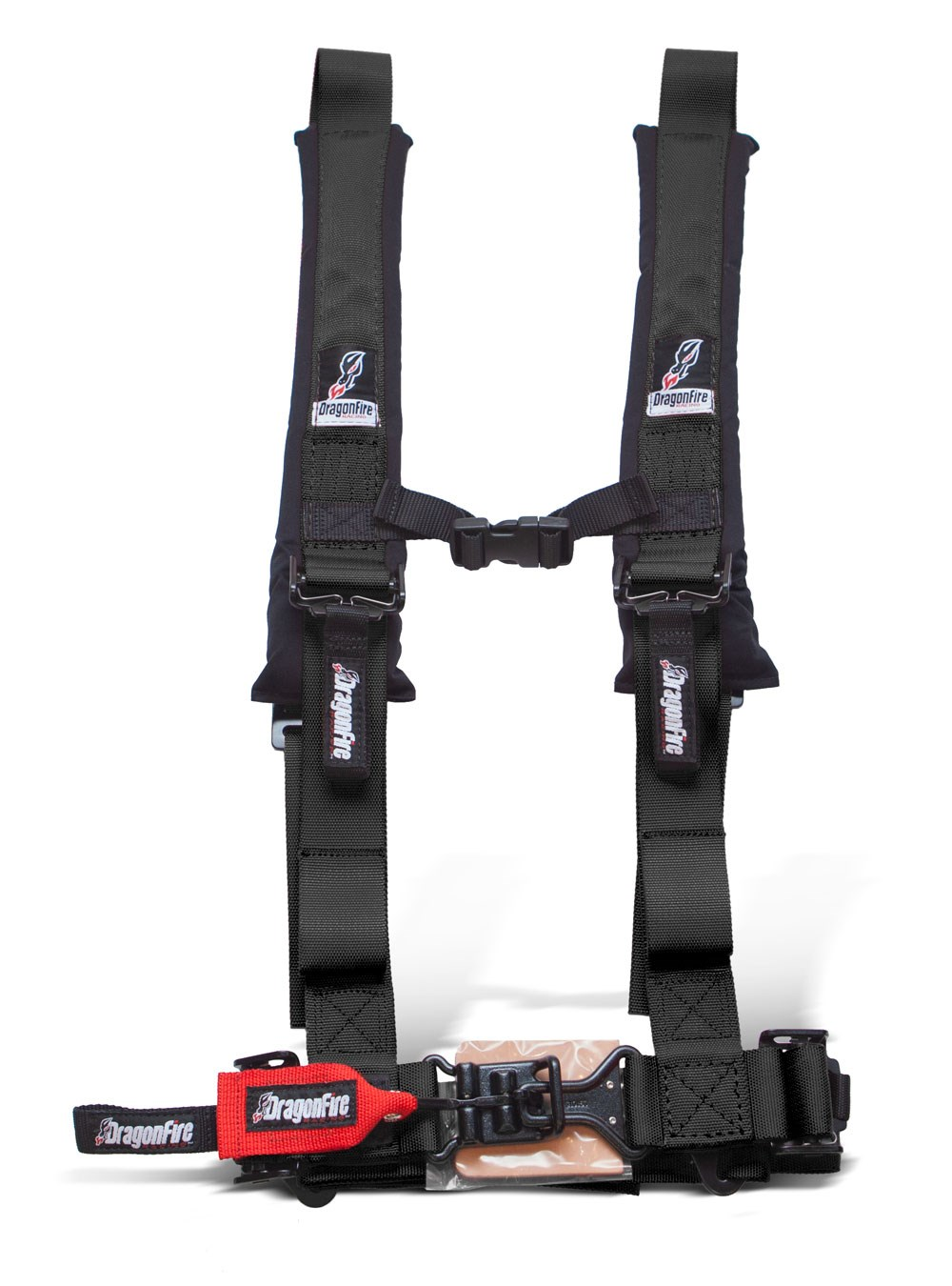 DragonFire H-Style 4-Point 2 Inch UTV Harness (Sewn In)