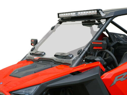Polaris RZR Pro XP Venting Windshield Featuring Tool-less Rapid Release