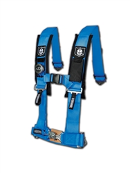 "4 Point 3"" Harness w/ Sewn in Pads (Voodoo Blue)"