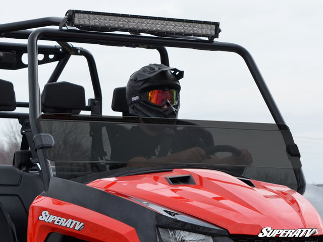 Arctic Cat HDX/ Prowler Tinted Half Windshield