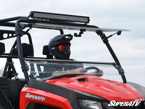 Arctic Cat HDX/ Prowler Flip Windshield