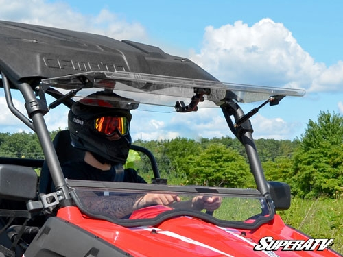 CFMOTO ZForce 800EX Scratch Resistant Flip Windshield