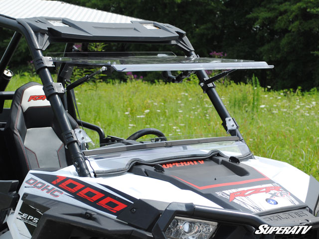 Polaris RZR S 1000 Scratch Resistant Flip Windshield