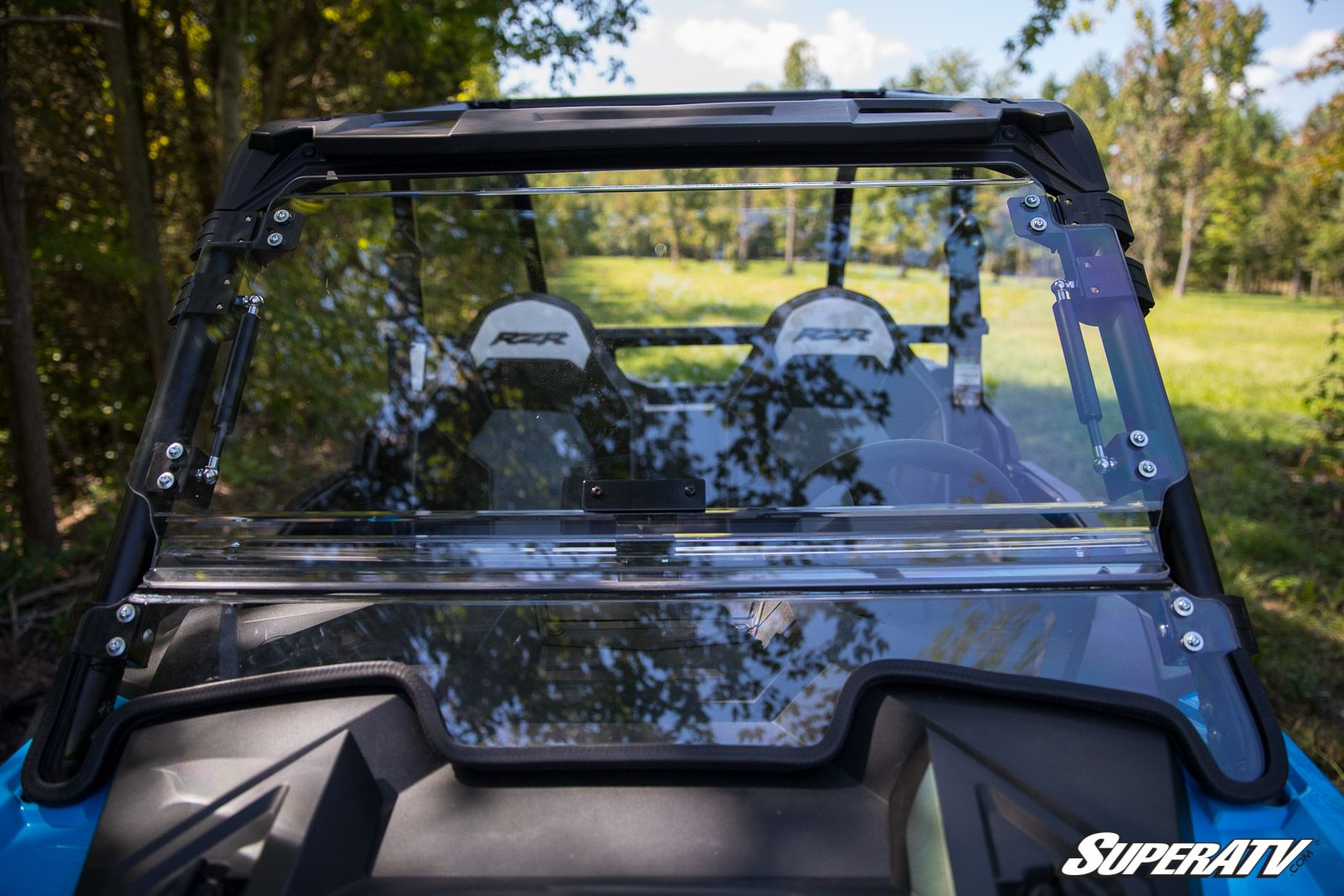 2019+ Polaris RZR XP 1000 & XP Turbo Scratch Resistant Flip Windshield