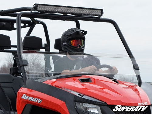Arctic Cat HDX/ Prowler Half Windshield