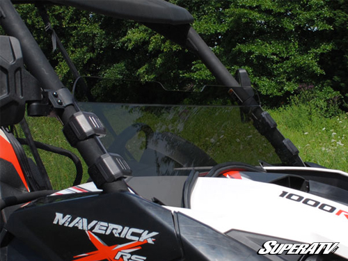 Can-Am Maverick Clear Half Windshield