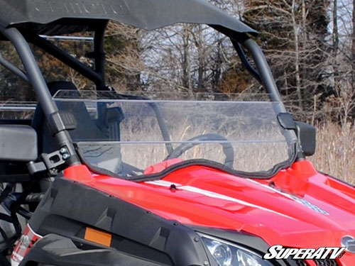 CFMOTO ZForce 800EX Scratch Resistant Half Windshield