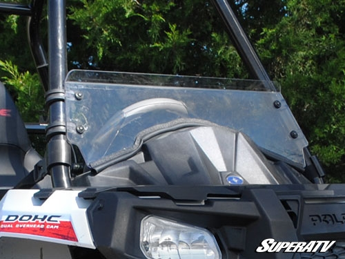 Polaris Sportsman ACE Scratch Resistant Half Windshield