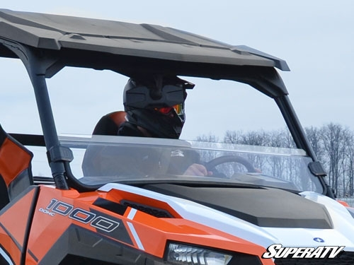 Polaris General Scratch Resistant Clear Half Windshield