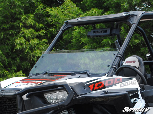 Polaris RZR S 1000 Clear Half Windshield