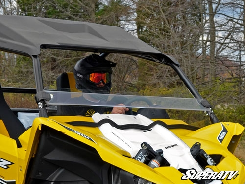 Yamaha YXZ Scratch Resistant Clear Half Windshield
