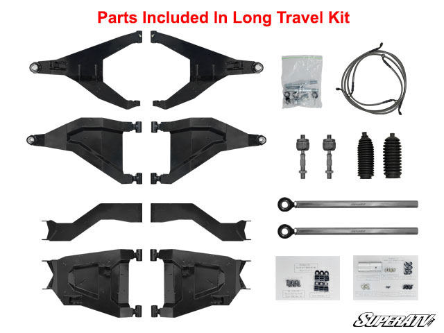 "Polaris General 1000 3"" Long Travel Kit"