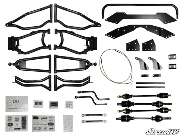 "Polaris RZR 800 6"" Long Travel Kit - High Clearance"