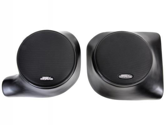"ARCTIC CAT PROWLER FRONT SPEAKER PODS WITH 120W 6.5"" SPEAKERS"