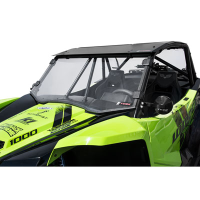 TEXTRON WILDCAT XX Full Windshield Clear - Scratch Resistant