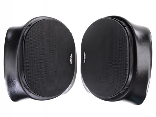 "POLARIS RANGER REAR SPEAKER PODS WITH 225 WATT 6X9"" SPEAKERS"