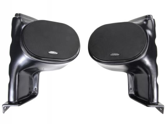 "POLARIS RANGER GEN 1 FRONT SPEAKER PODS WITH 225W 6X9"" SPEAKEARS"