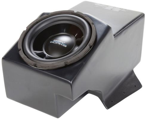 "2009 - UP POLARIS RANGER CENTER CONSOLE SUB BOX W/550W 10"" SUB"