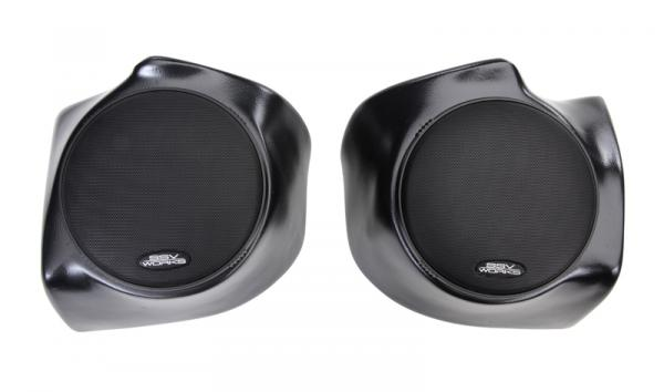 "POLARIS RANGER GEN 2 FRONT SPEAKER PODS WITH 120W 6.5"" SPEAKERS"