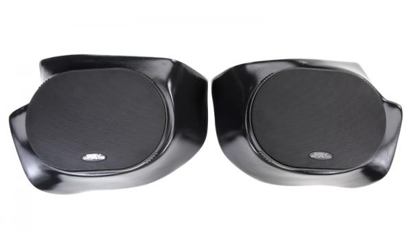 "POLARIS RANGER GEN 2 FRONT SPEAKER PODS WITH 225W 6X9"" SPEAKERS"