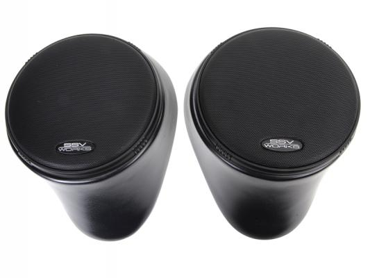 "YAMAHA RHINO FRONT SPEAKER PODS WITH 120 WATT 6 1/2"" SPEAKERS"