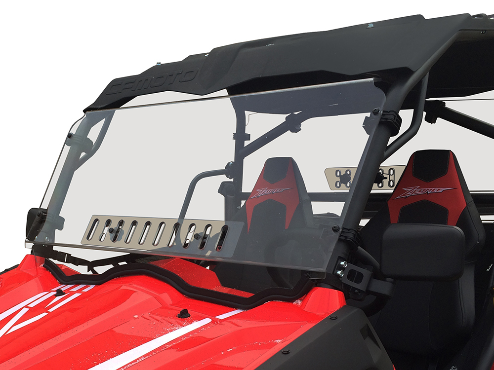 CFMOTO ZForce Full Venting Scratch Resistant Windshield