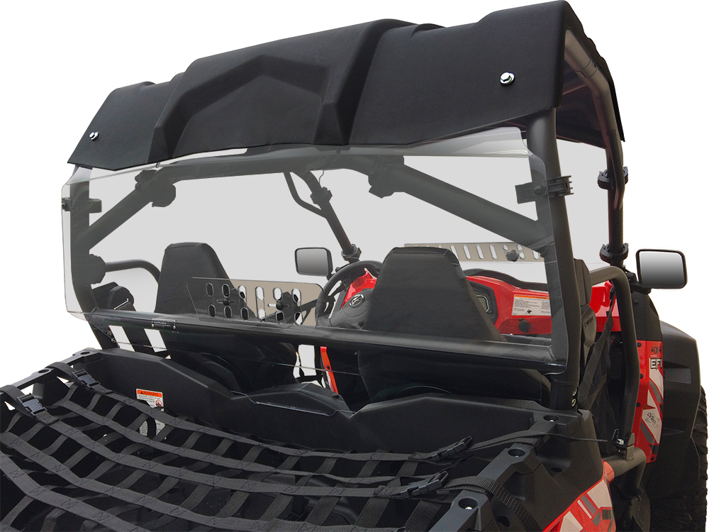 CFMOTO ZForce Rear Windshield With Sliding Vent