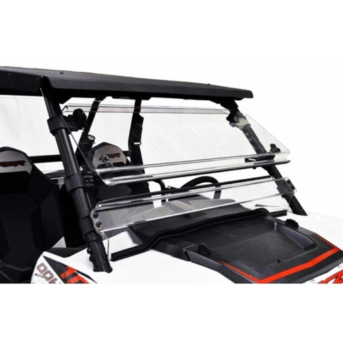 Polaris RZR 900 / 1000 Full Tilting Scratch Resistant Windshield