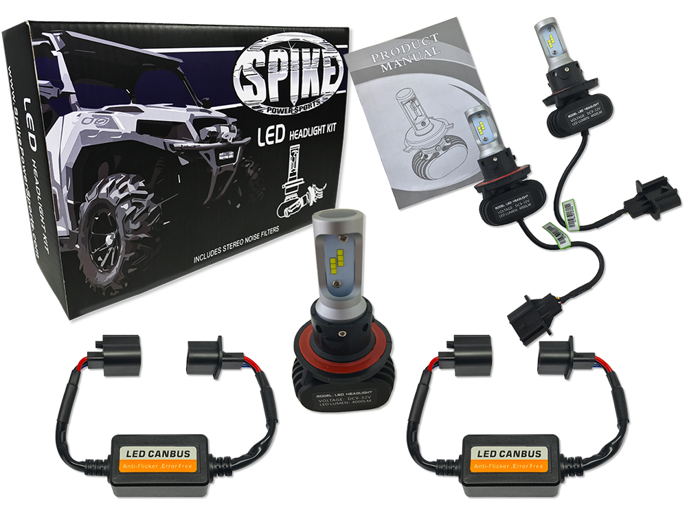 LED Replacement Bulb Kit with filters (Polaris vehicles)