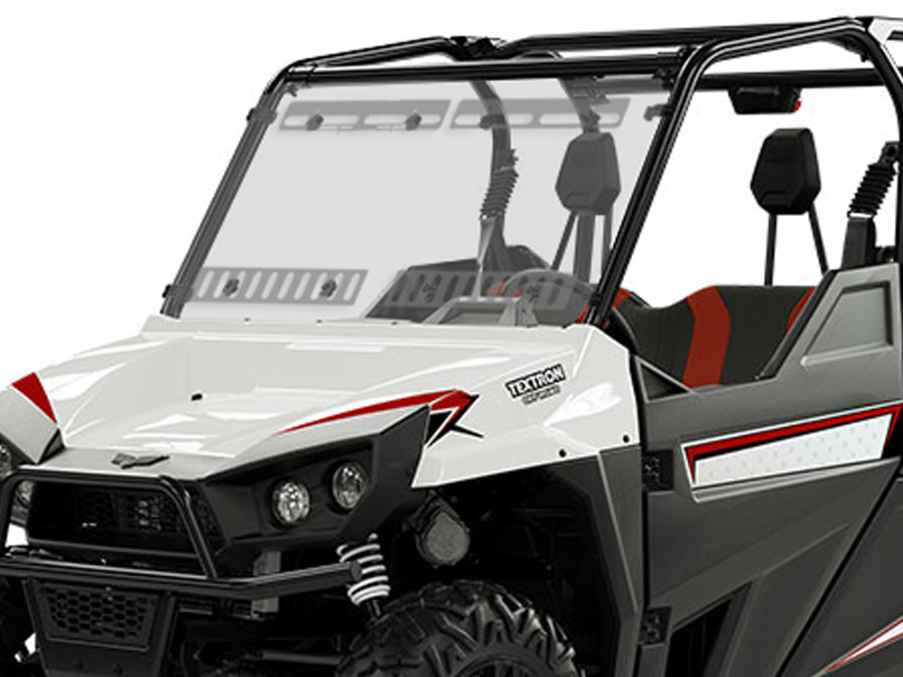 Textron Stampede & Havoc Full Scratch Resistant Multi-Vent Windshield