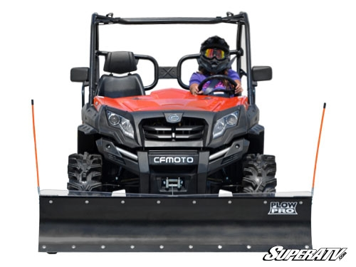 cfmoto uforce zforce snow plows side x side visions. Black Bedroom Furniture Sets. Home Design Ideas