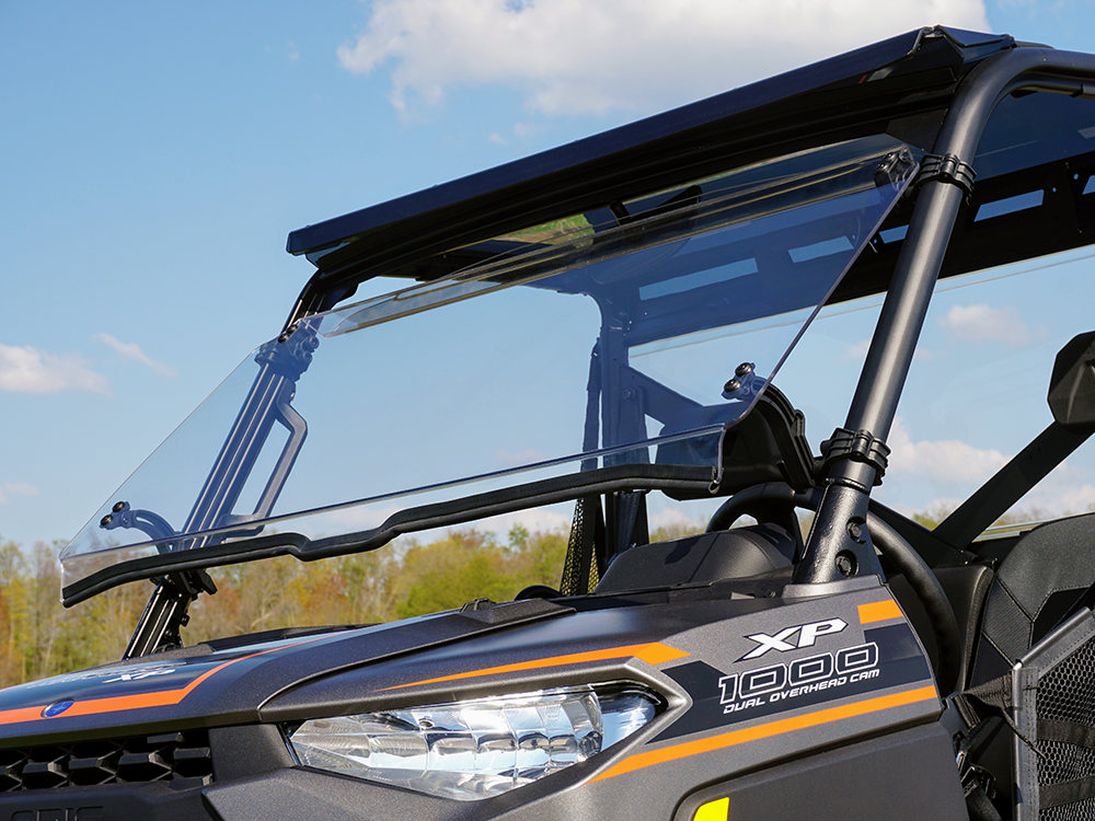 Polaris Ranger XP 1000 Tilting Scratch Resistant Windshield (2018+)