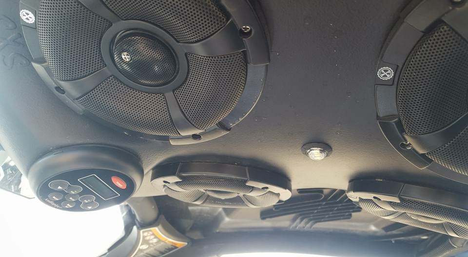 CAN-AM MAVERICK X3 FOUR SPEAKER OVERHEAD STEREO SYSTEM