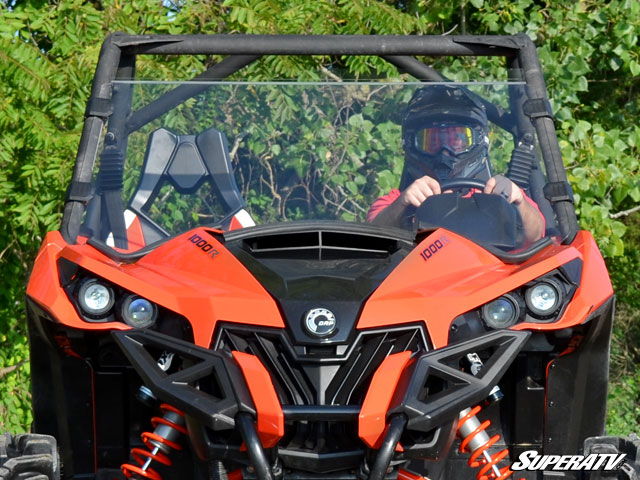 Can-Am Maverick Scratch Resistant 3/4 Windshield