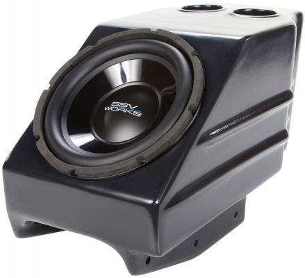 "KAWASAKI TERYX CENTER CONSOLE SUB BOX WITH 500 WATT 10"" WOOFER"