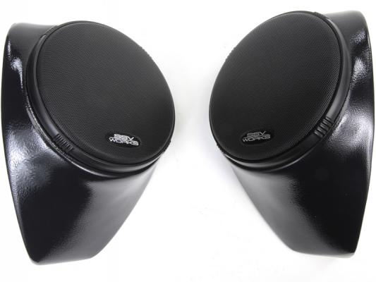 "KAWASAKI TERYX REAR SPEAKER PODS WITH 120 WATT 6 1/2"" SPEAKERS"