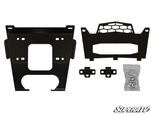 Polaris General Winch Mounting Plate