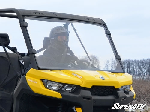 Can-Am Defender Scratch Resistant Full Windshield