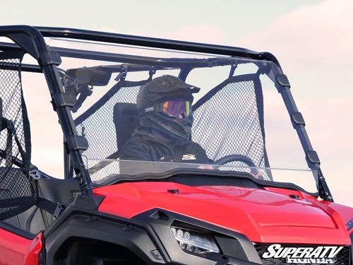 Honda Pioneer 1000 Scratch Resistant Full Windshield