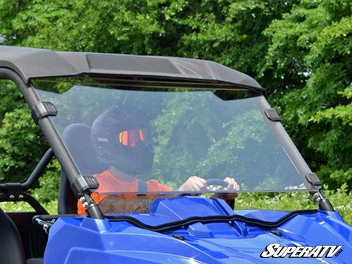 Yamaha Wolverine Scratch Resistant Full Windshield