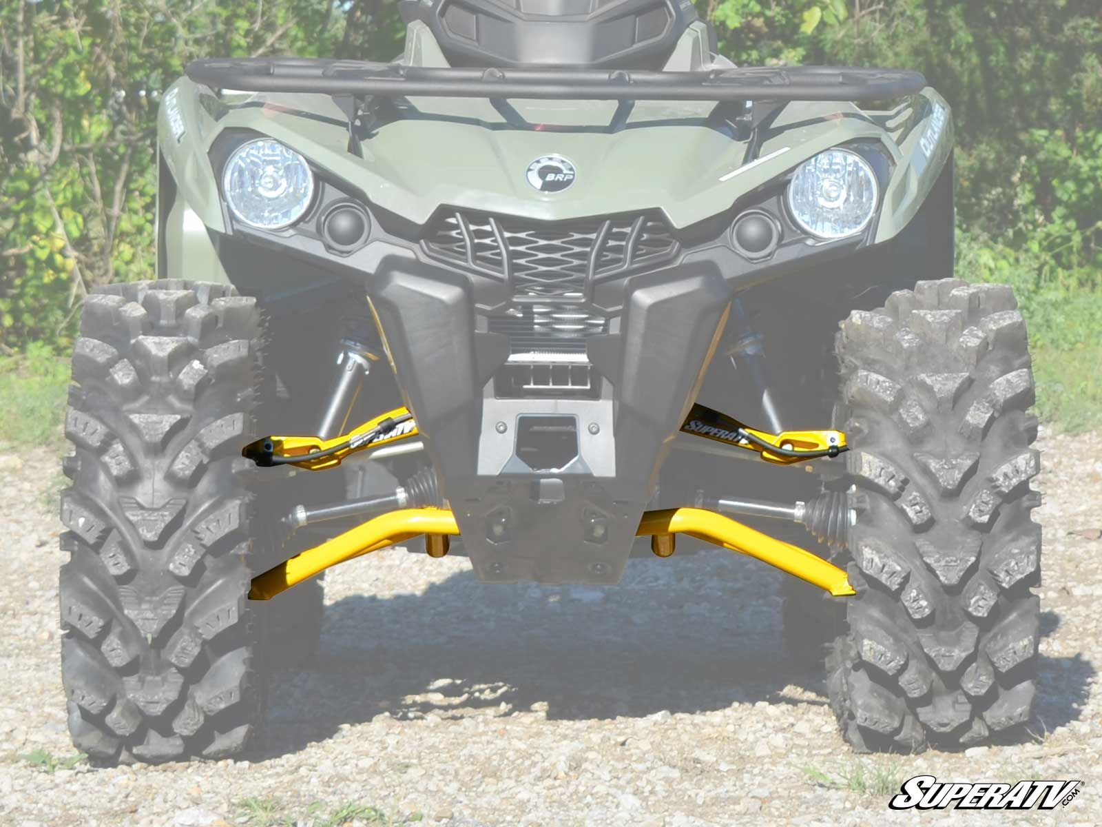 "Can-Am Outlander/Renegade (Gen 2) 1.5"" Offset High Clearance A-Arms"