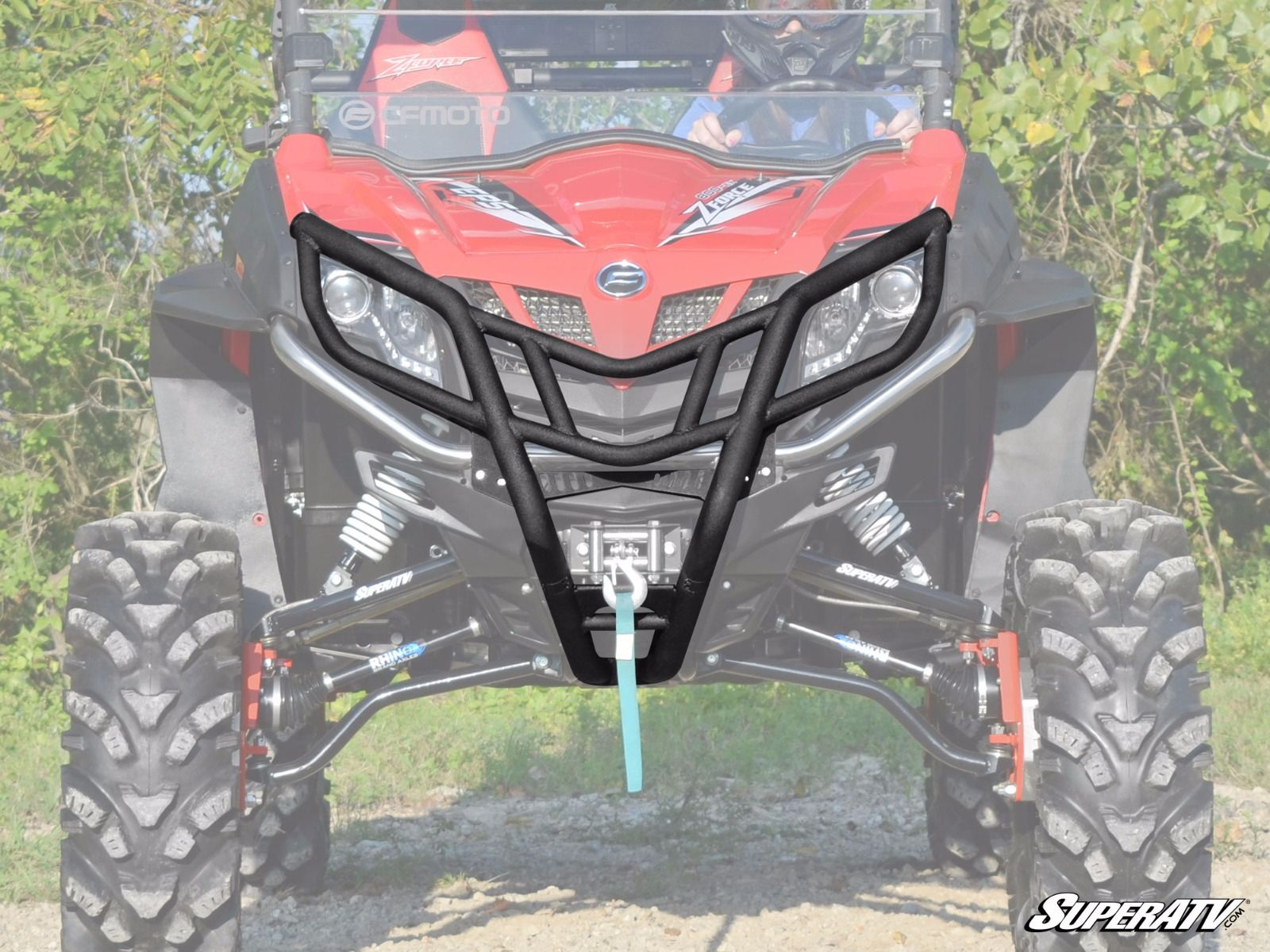 CFMOTO ZForce 500 & 800 Front Brush Guard