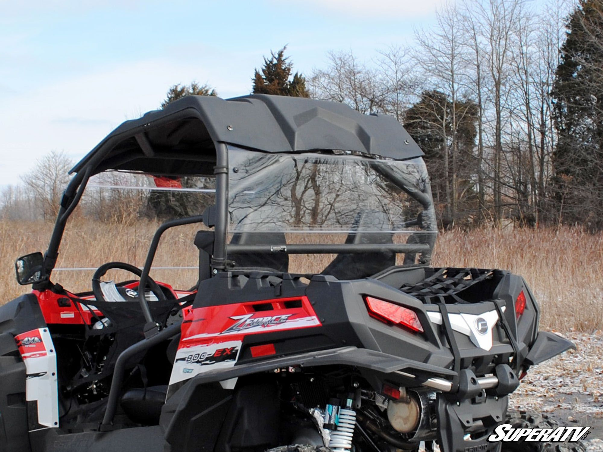 CFMOTO ZForce 800EX Rear Windshield
