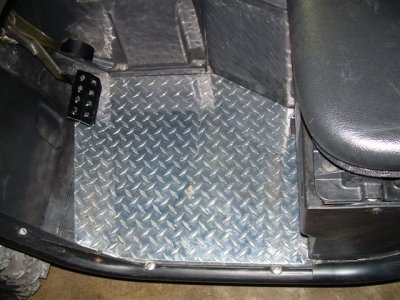 Rhino Diamond Plate Floor Boards