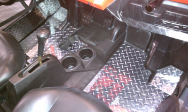 RZR-S Diamond Plate Floorboards