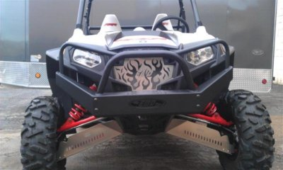 RZR XP900 Outback Edition Front Bumper With Winch Mount