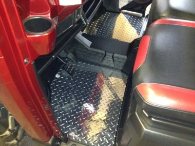 Ranger XP 900 Diamond Plate Floor Boards