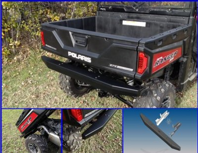 Polaris Ranger XP 1000 Rear Bumper